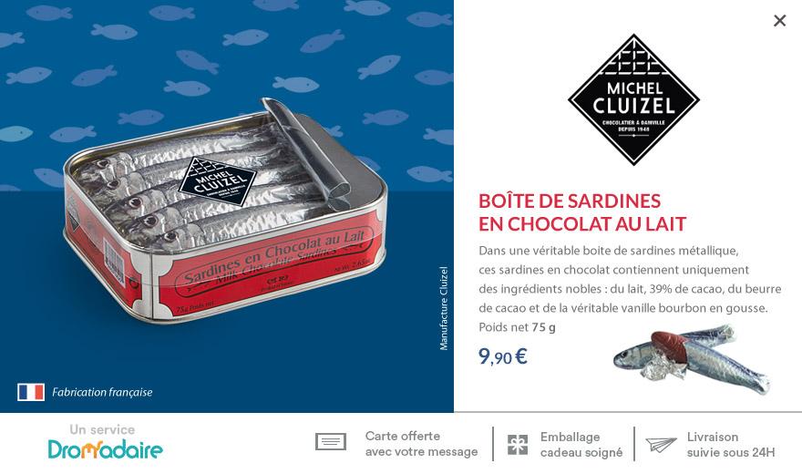 Sardines en chocolat