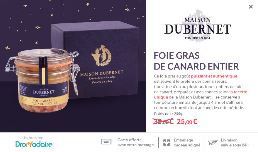 Foie gras 200g