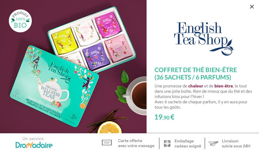 Coffret thés et infusions