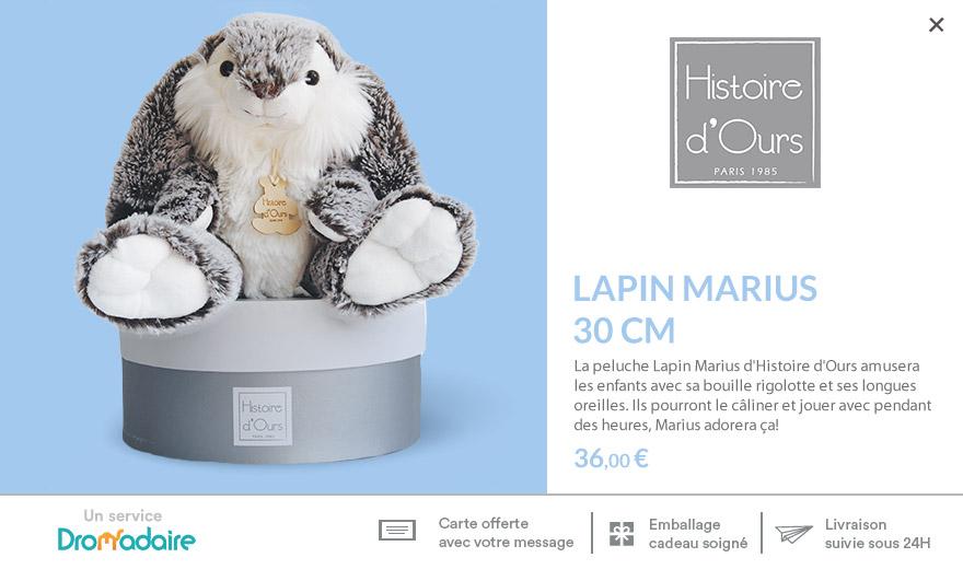 Lapin Marius 30cm