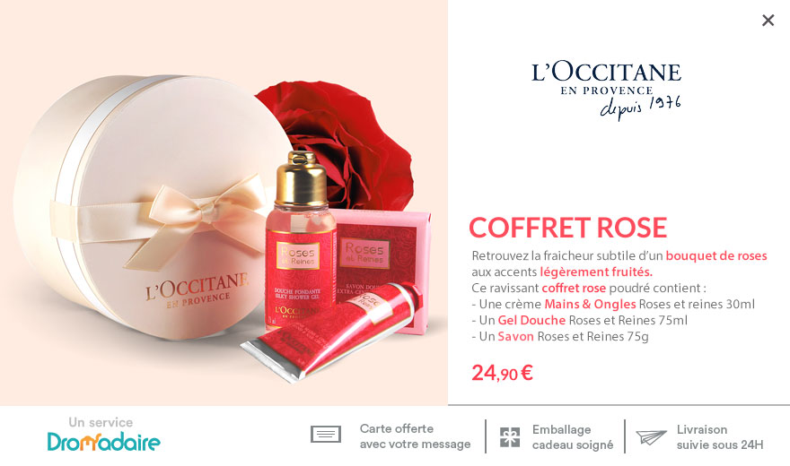 Coffret Rose