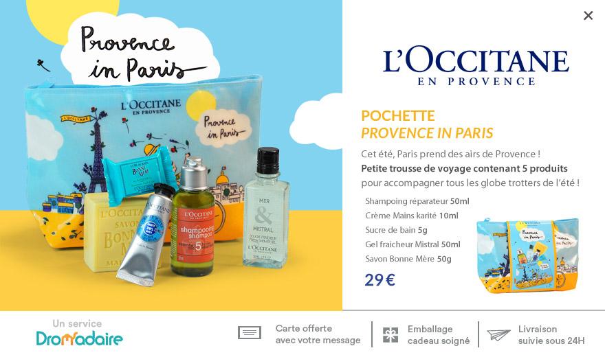 Pochette Provence in Paris