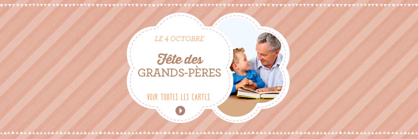 Cartes fête des grands-pères
