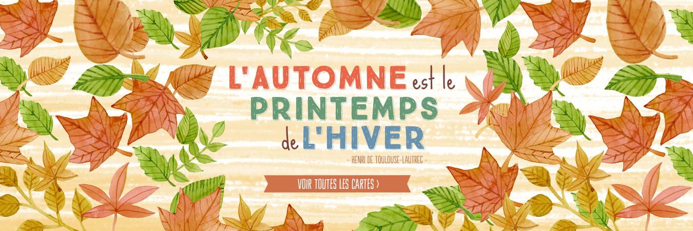 Cartes automne
