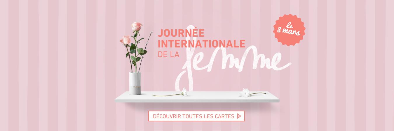 8 mars - journée de la femme