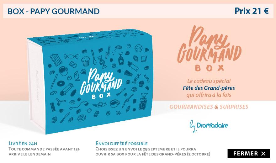 Dromabox Papy Gourmand