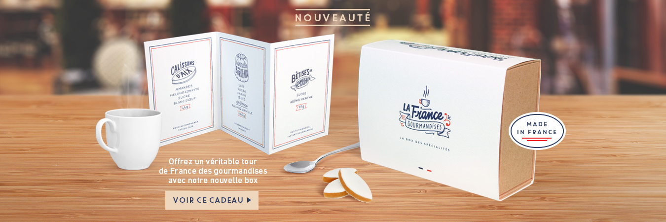 Cadeaux Box gourmandises made in France