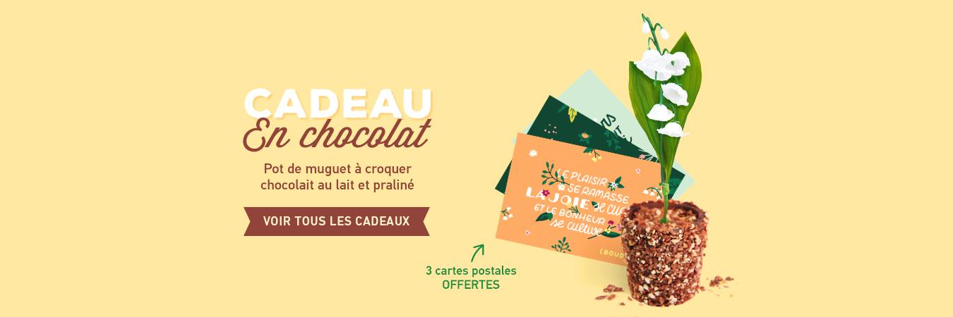 Muguet chocolaté