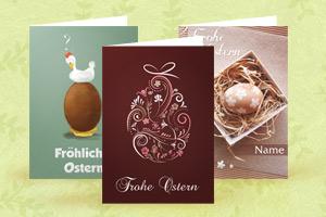 Personalisieren Sie Ihre Osterkarten