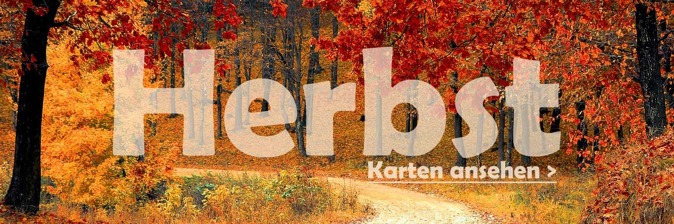 Herbstkarten