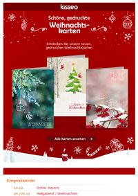 neue Weihnachtskarten