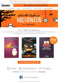 Printkarten zu Halloween