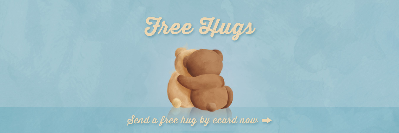 It's Hug Day! Send a free eCard