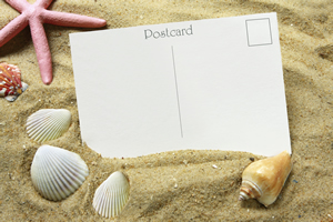 Textes de carte postales