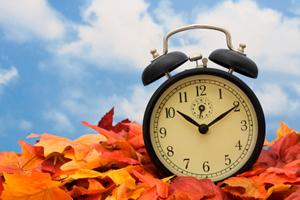 Le 30 octobre, on recule d'une heure