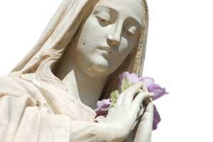 Cartes à envoyer pour la Sainte Marie, le 15 août