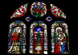 L'Annonciation de la Vierge Marie