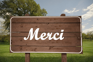 Citations pour dire merci