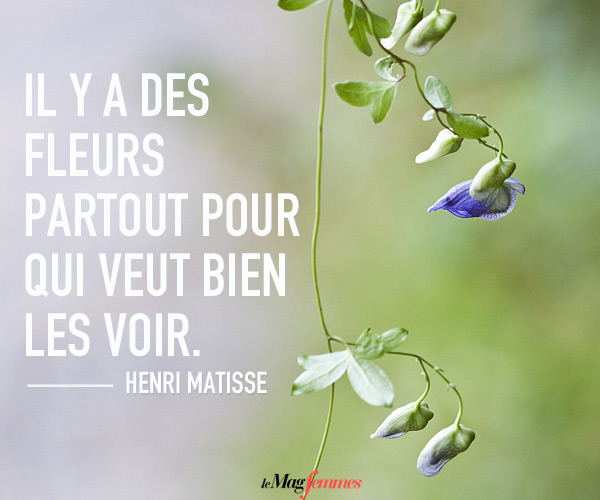 Citation de Matisse