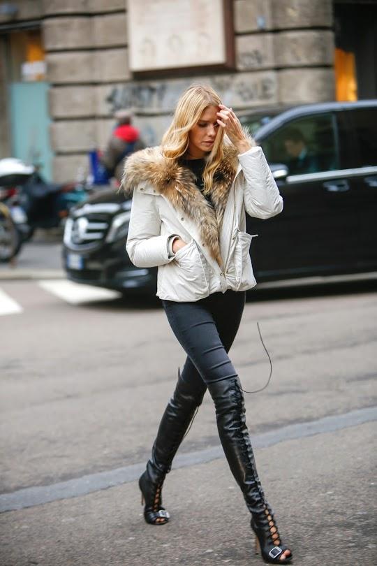 Photos prises lors de la Milan Fashion Week et mises à disposition par www.mybestbrands.fr