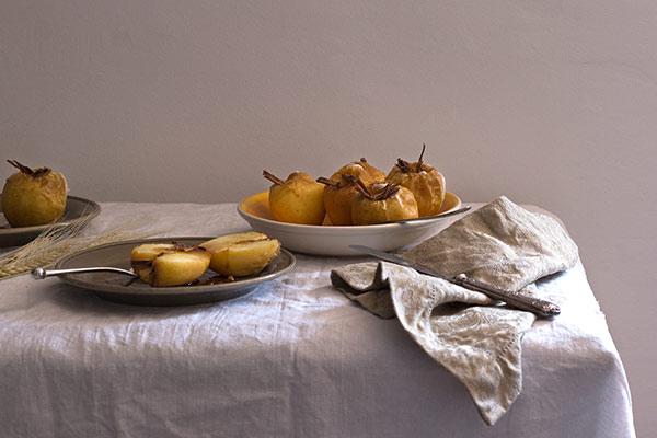 Recette de pomme au four aux 4 épices