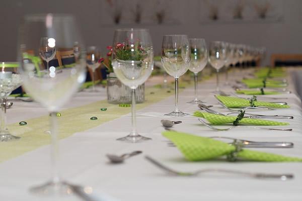 Un repas de communion