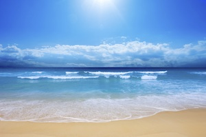L'eau de mer et l'air marin sont bons pour la sant�