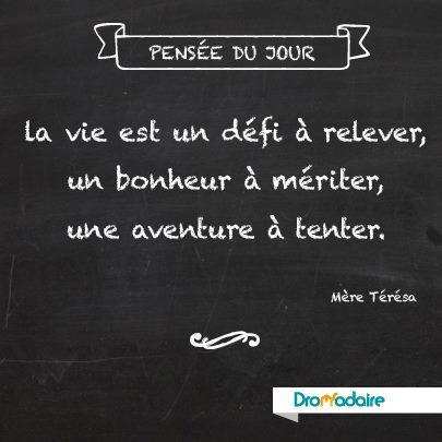 Citation de Mère Teresa