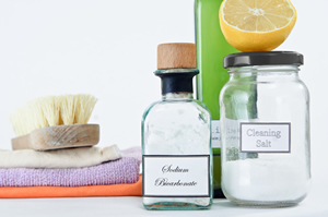 produits bio et nature pour nettoyer la maison