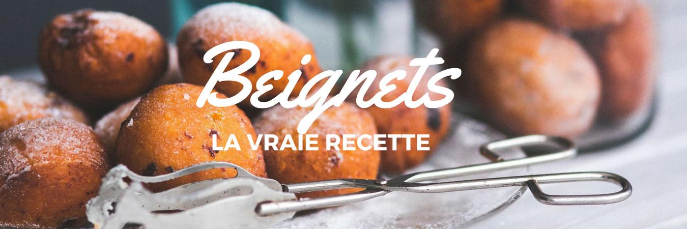 La vraie recette des beignets