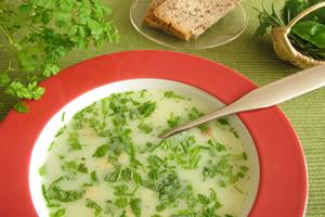 soupe au cerfeuil