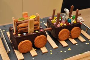 un gâteau d'anniversaire pour enfant